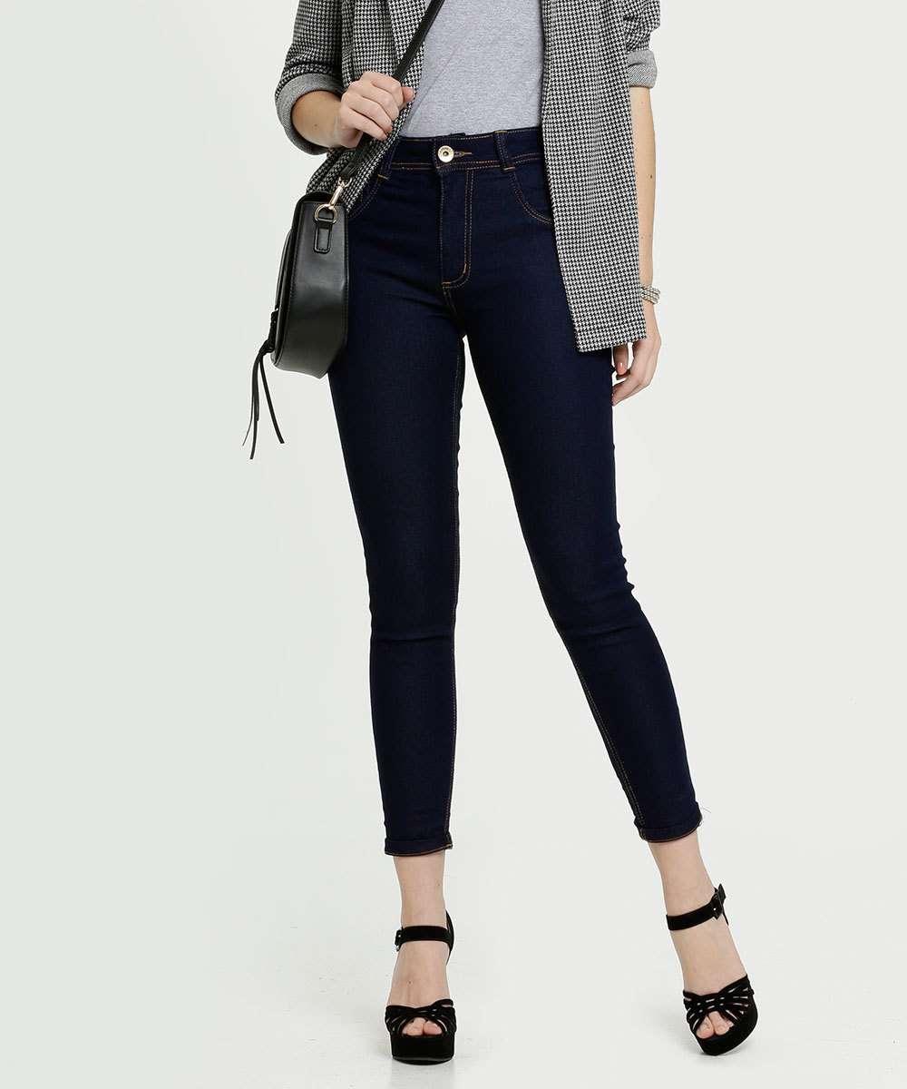 Calça Feminina Jeans Cigarrete Biotipo