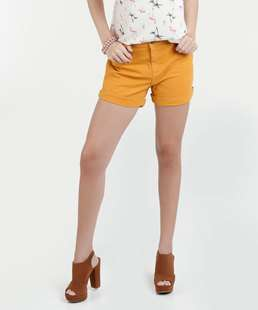 Short Feminino Sarja Hot Pants Marisa
