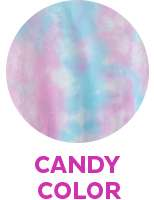 Tie Dye Candy Color
