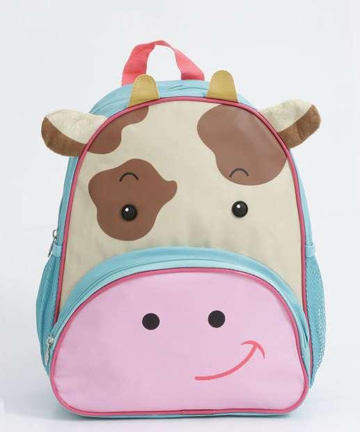 Image_Mochila Infantil Estampa Vaca Clio