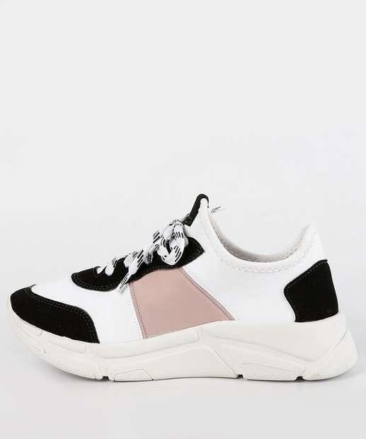 Chunky Feminino Marisa Tênis Sneaker Sneaker BRANCO Tênis Chunky Feminino HIAwExv
