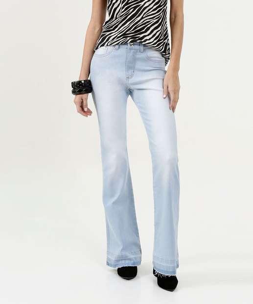 Image_Calça Feminina Jeans Stretch Flare Marisa