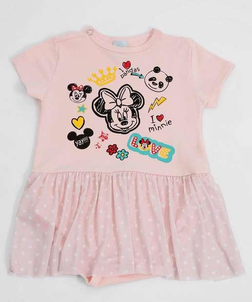 Image_Body Infantil Bebê Estampa Minnie Disney