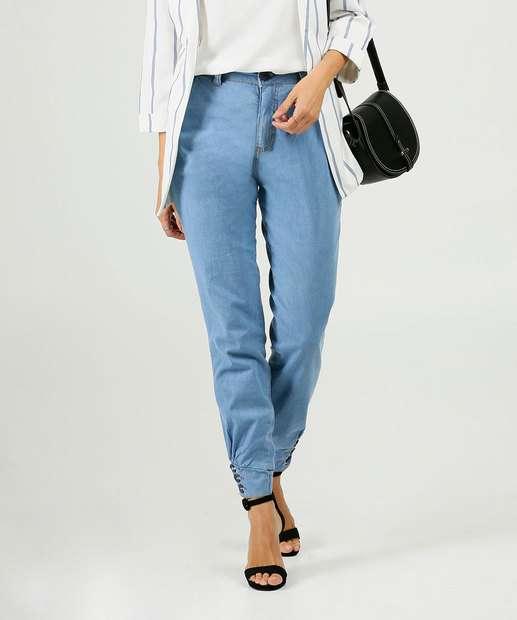 Image_Calça Jeans Jogger Feminina Bolsos Biotipo