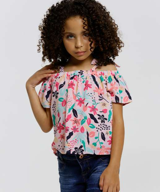 Image_Blusa Infantil Ombro a Ombro Floral Marisa Tam 4 a 10