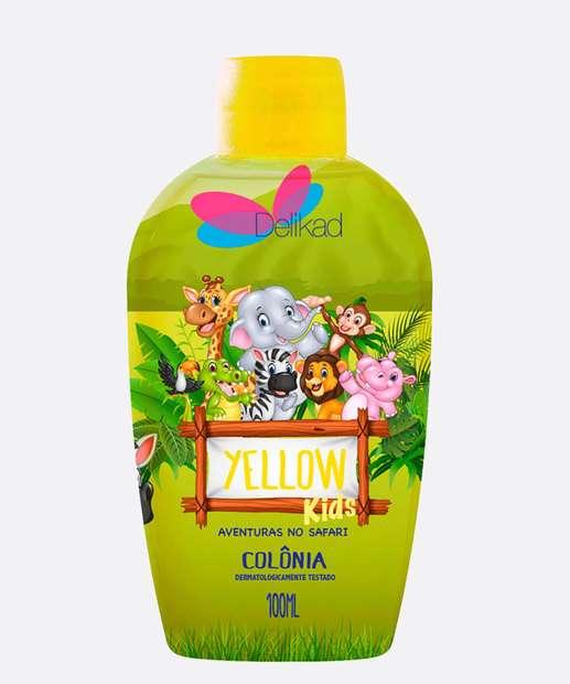 Image_Colônia Infantil Unissex Safari Kids Yellow Delikad 100ml
