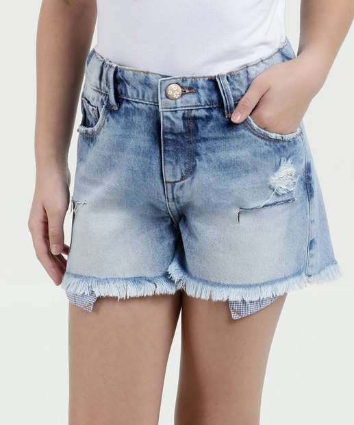 Image_Short Infantil Jeans Destroyed Marisa