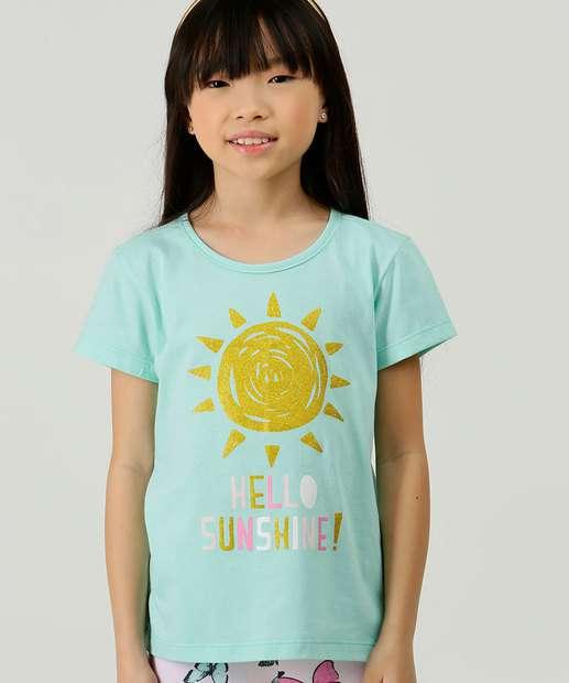 Image_Blusa Infantil Manga Curta Estampa Sol Marisa Tam 4 a 10