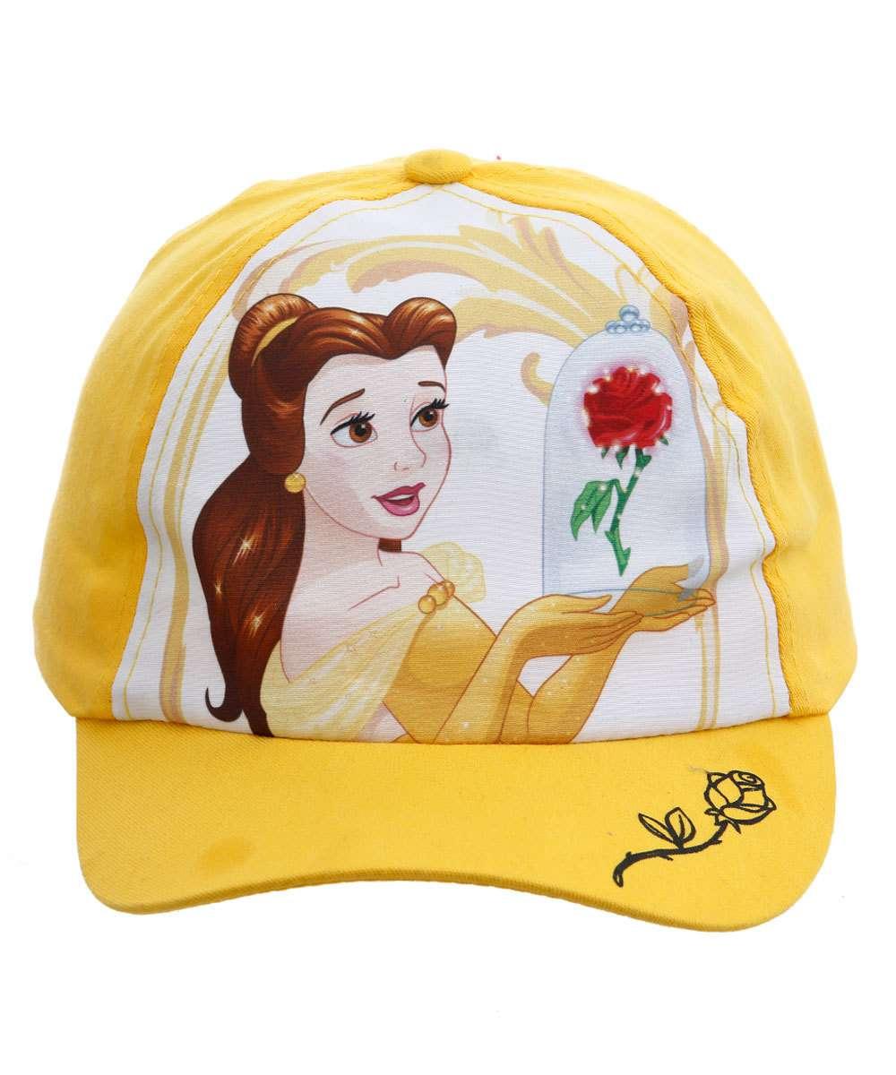 Boné Infantil Princesa Bela Disney
