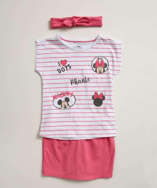 Image_Conjunto Infantil Estampa Minnie Glitter Brinde Disney