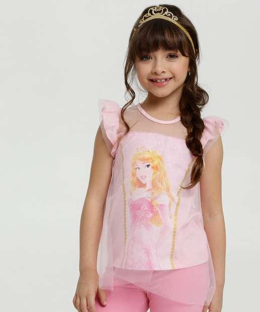 Image_Blusa Infantil Estampa Princesas Disney