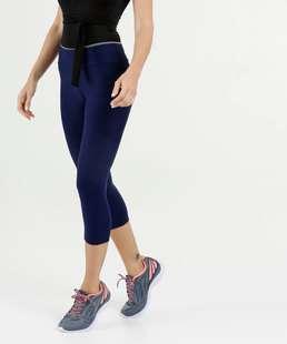 Calça Feminina Corsário Fitness Textura Marisa