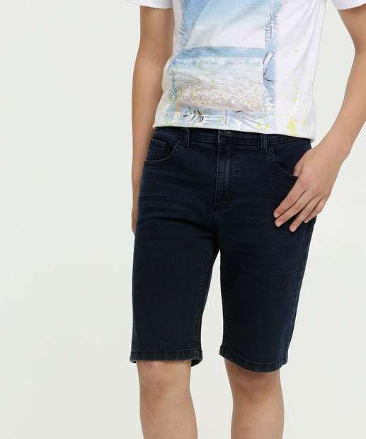 Image_Bermuda Juvenil Jeans Bolsos MR