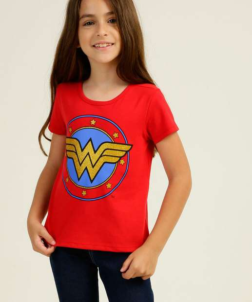 Image_Blusa Infantil Mulher Maravilha Liga da Justiça Tam 4 a 10