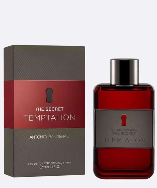 Image_Perfume Masculino Antonio Banderas The Secret Temptation - Eau de Toilette 100ml