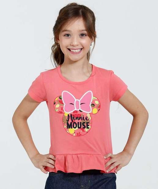 Image_Blusa Infantil Estampa Minnie Babado Disney