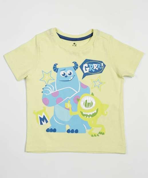 Image_Camiseta Infantil Estampa Monstros SA Disney