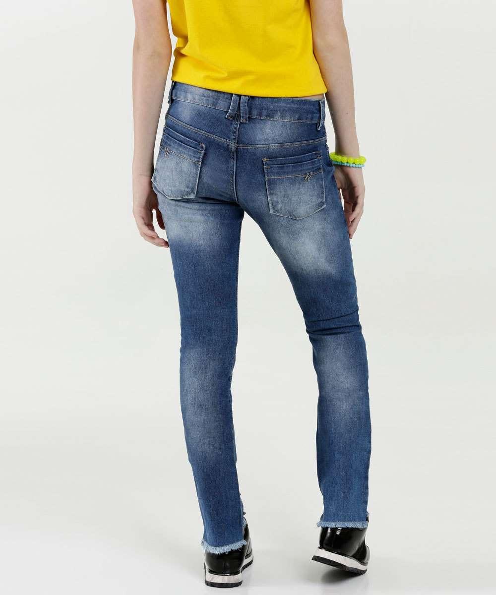 c8c3f0d01 Calça Juvenil Jeans Strass | Marisa
