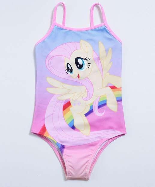 Image_Maiô Infantil Estampa Pony  Fluttershy Hasbro