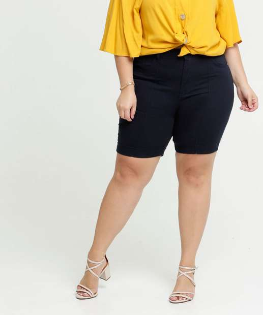 Image_ Short Feminino Sarja Plus Size