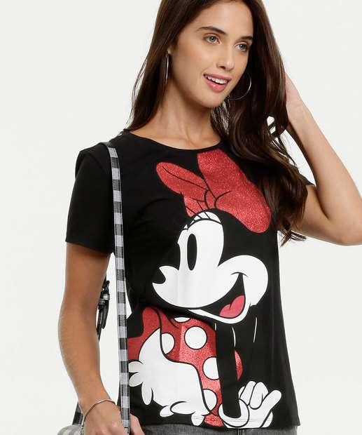 Image_Blusa Feminina Estampa Minnie Disney