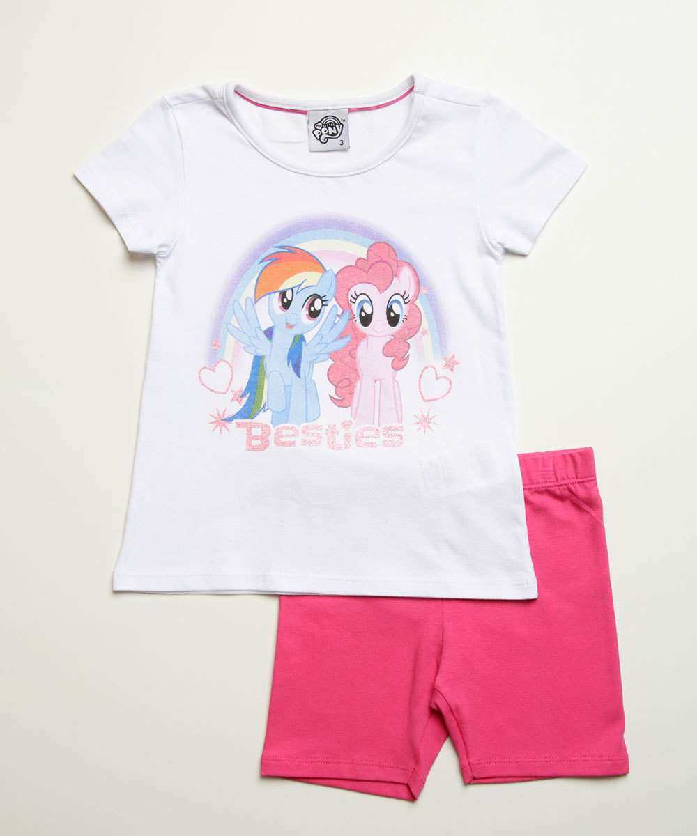 Conjunto Infantil Estampa My Little Pony Hasbro