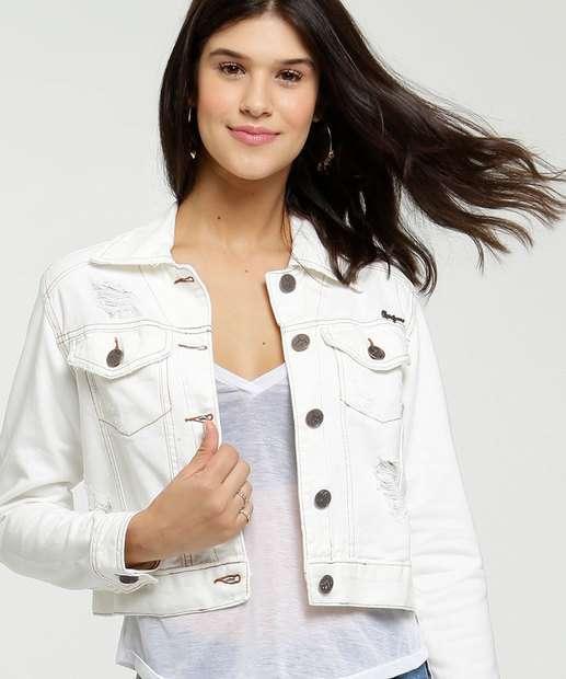 Image_Jaqueta Feminina Cropped Sarja Destroyed Uber Jeans