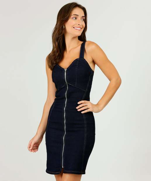 Image_Vestido Feminino Jeans Alças Finas Biotipo