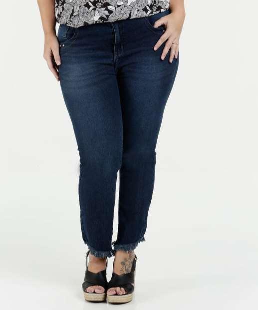 Image_Calça Feminina Jeans Skinny Stretch Plus Size Marisa