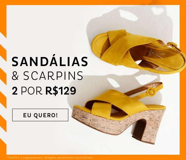60ca2ef990 Combo Sandalias   Scarpin