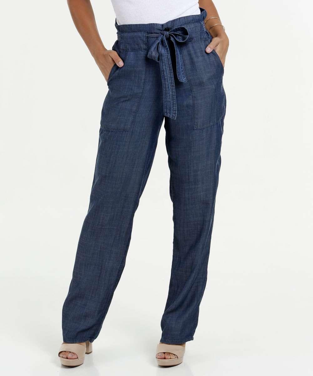4a012a3da Calça Feminina Jeans Clochard Boot Cut Gups