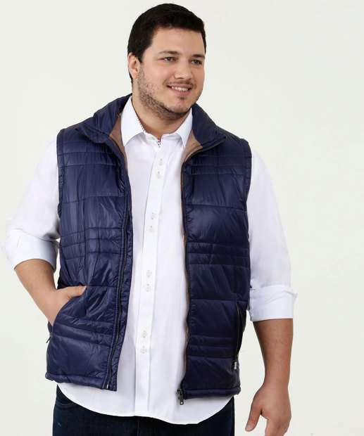 Image_Colete Masculino Puffer Bolsos Plus Size