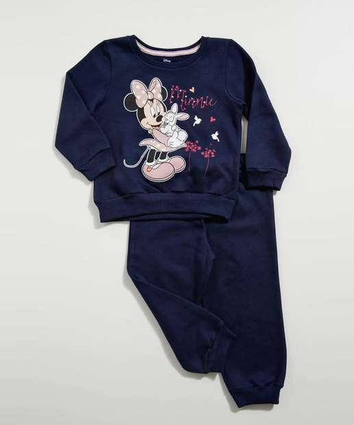 Image_Conjunto Infantil Estampa Minnie Manga Longa Disney