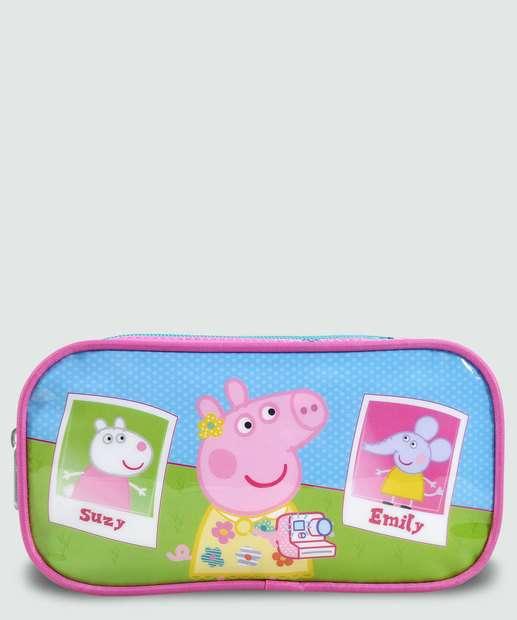 Image_Estojo Escolar Infantil Estampa Peppa Pig Xeryus