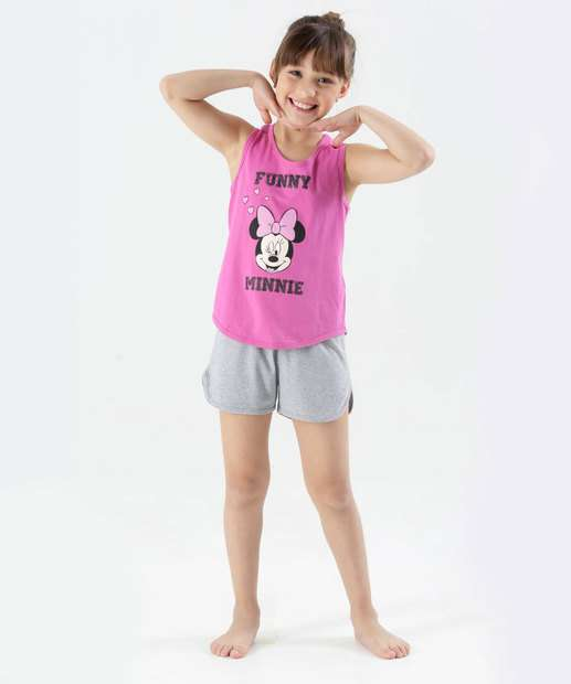 Image_Pijama infantil Minnie Regata Dinsey