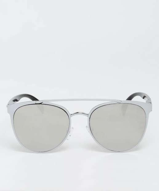 Image_Óculos de Sol Feminino Aviador Espelhado Marisa