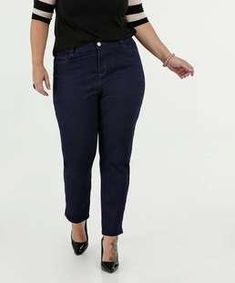 Calça Feminina Jeans Skinny Cintura Média Plus Size Marisa