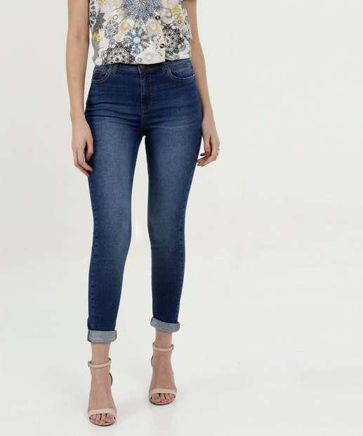 Image_Calça Feminina Jeans Cintura Média Skinny Marisa