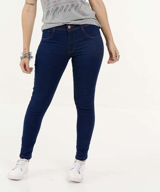 Image_Calça Feminina Jeans Cintura Média Skinny Biotipo