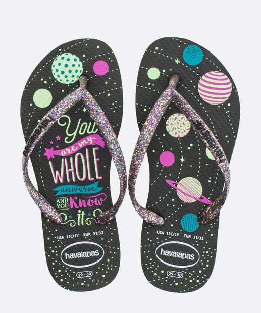 Image_Chinelo Havaianas Infantil Kids Slim Fashion
