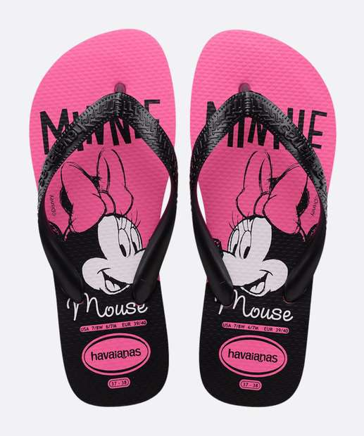 Image_Chinelo Havaianas Infantil Kids Top Minnie