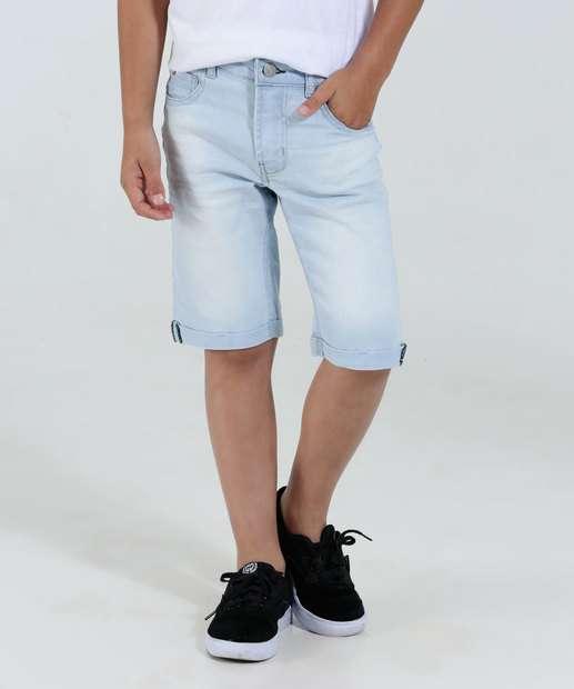 Image_Bermuda Infantil Jeans Claro Marisa