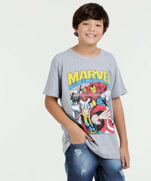 Image_Camiseta Juvenil Os Vingadores Manga Curta Marvel