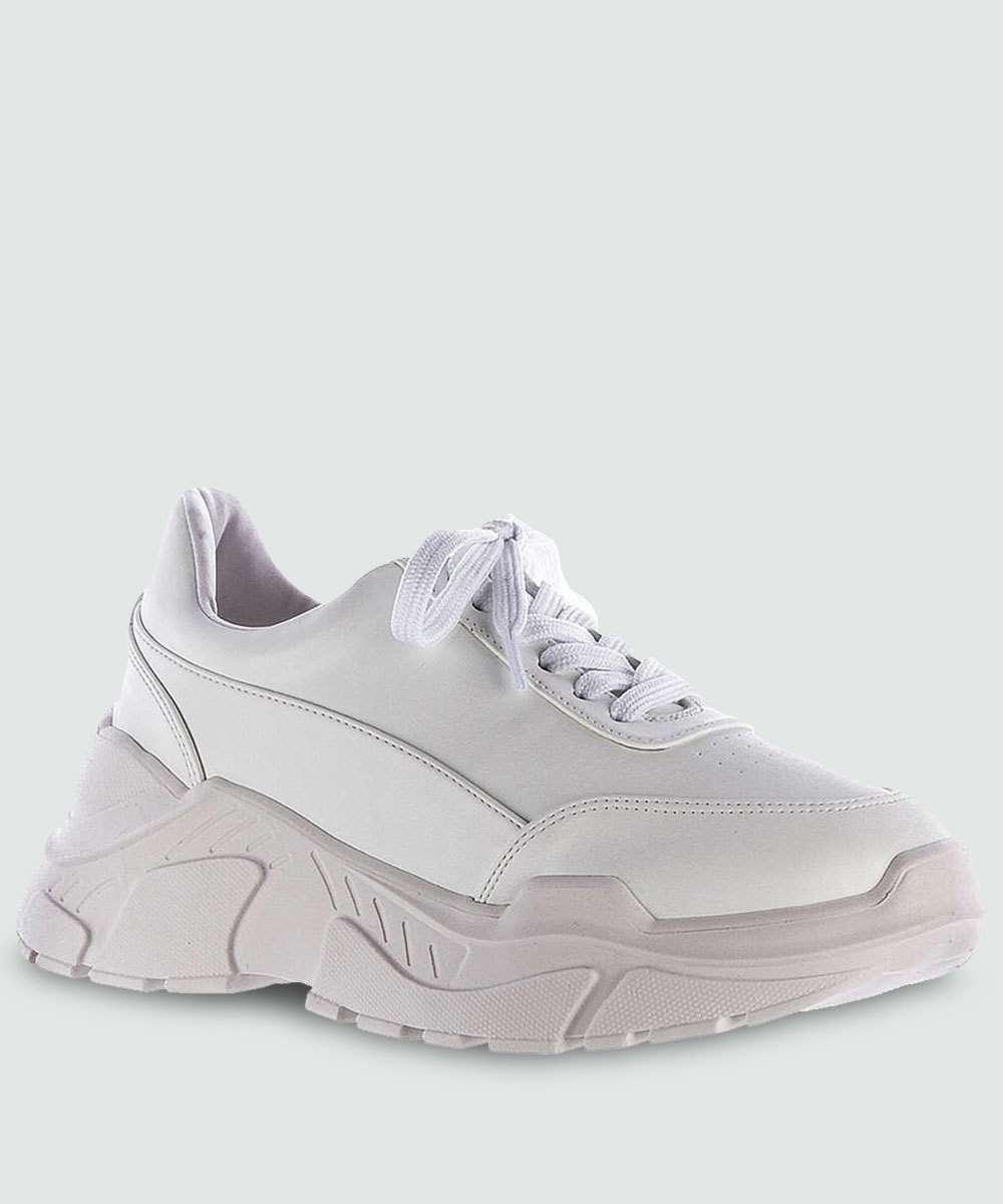 0622d6afc Tênis Feminino Chunky Sneaker Zatz Z265316271   Menor preço com cupom