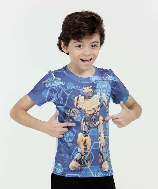 Image_Camiseta Infantil Transformers Bumblebee Hasbro