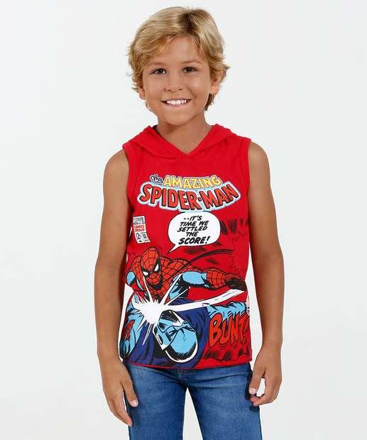 Image_Regata Infantil Homem Aranha Capuz Marvel