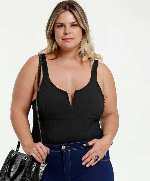Image_Body Feminino Canelado Plus Size Marisa
