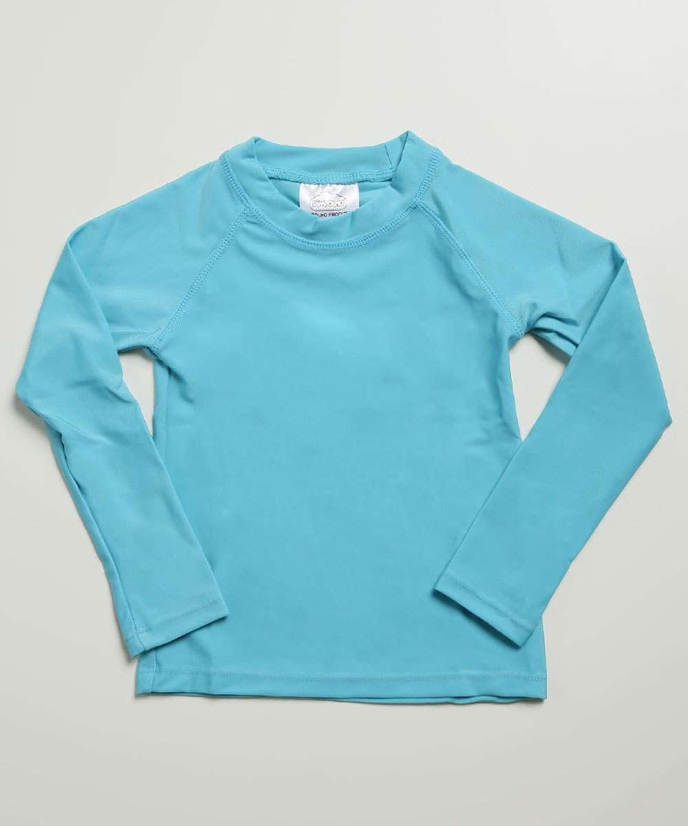 Camiseta Infantil Praia Proteção UV Pimpolho Tam 3 a 4