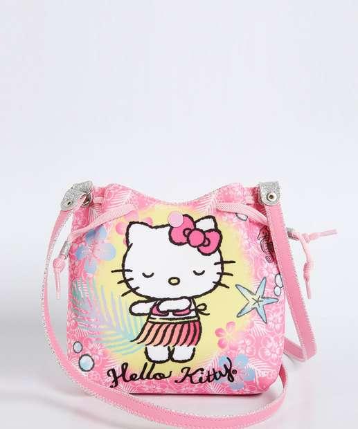 Image_Bolsa Infantil Transversal Listrada Hello Kitty Sanrio