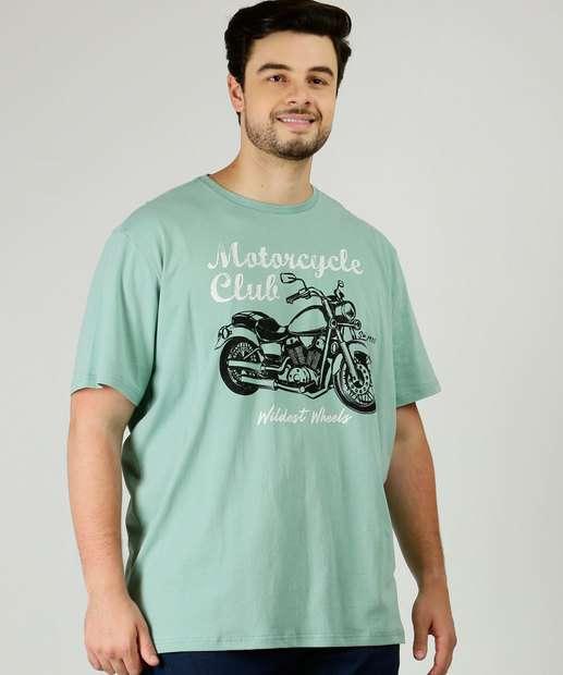 Image_Camiseta Masculina Estampada Manga Curta Plus Size MR